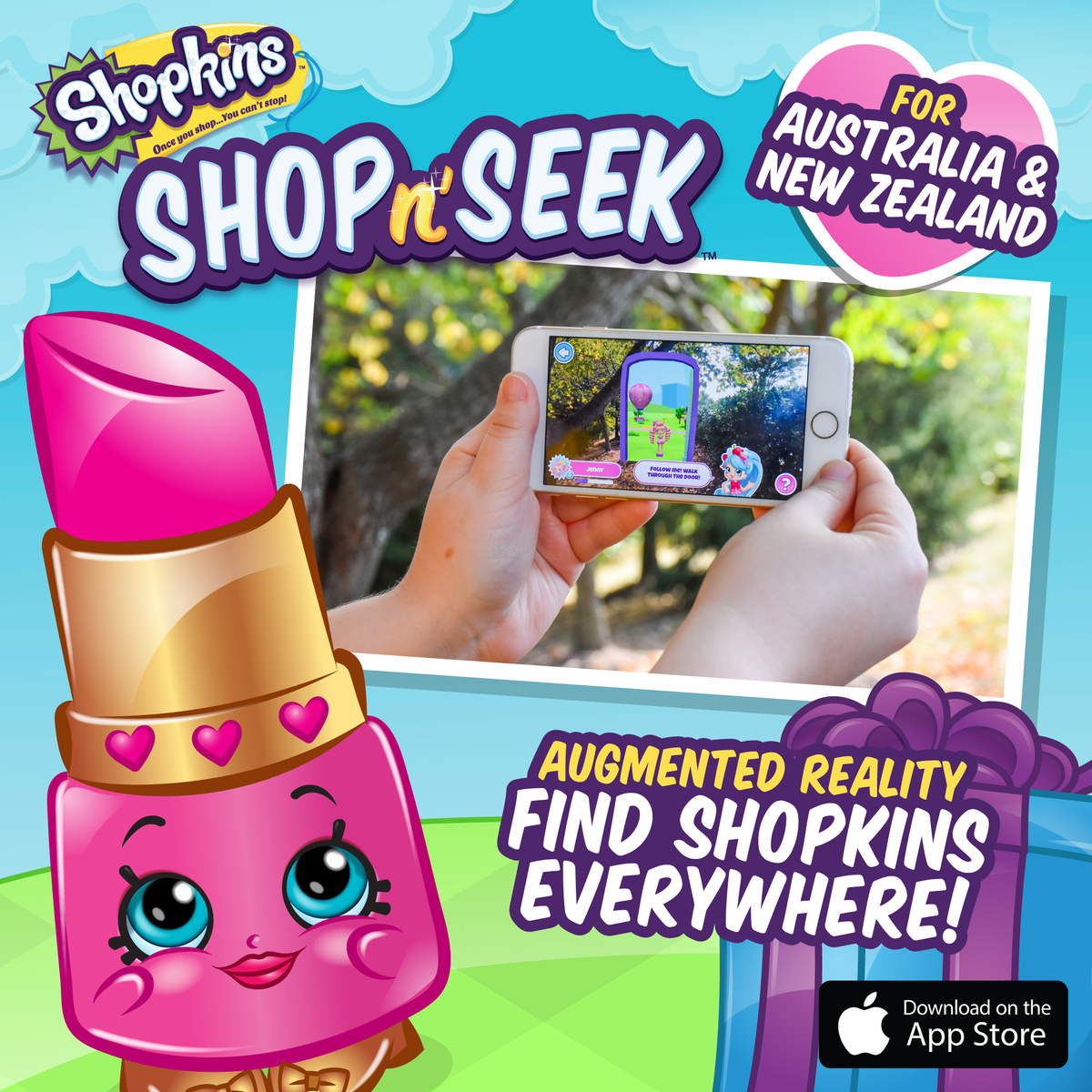 Shopkins Shop n' Seek for Australia and New Zealand